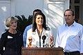 Nikki Haley Nucor Steel One SC Relief Fund Press Conference (30581283455).jpg