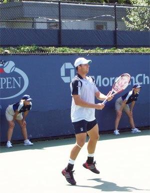 Noam Okun - Noam Okun at 2004 U.S. Open