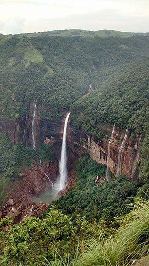 Nohkalikai Falls - Nohkalikai Falls