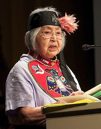 Alaska Women's Hall of Fame - Image: Nora Dauenhauer crop