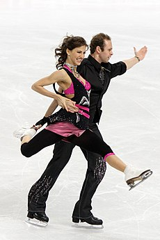 Nora Hoffmann and Maxim Zavozin at 2010 World Championships.jpg
