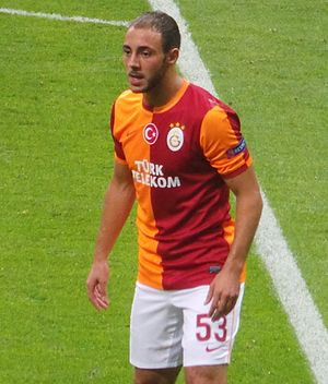 Nordin Amrabat - Amrabat with Galatasaray in 2013