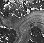Norris Glacier, valley glacier junction, August 24, 1963 (GLACIERS 6037).jpg