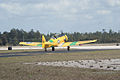 North American SNJ-6 Texan Marines Heading Out TICO 13March2010 (14597413194).jpg