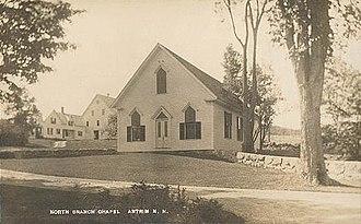Antrim, New Hampshire - North Branch Chapel c. 1915