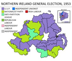 Northern Ireland general election, 1953 - Image: Northern Ireland general election 1953