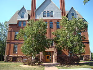 Northland College (Wisconsin) - Image: Northland College Wheeler Hall