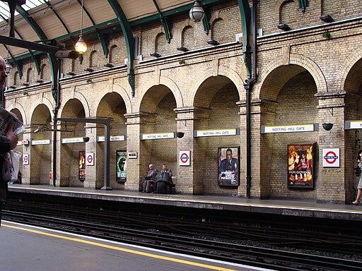 Notting Hill Gate Station.001 - London
