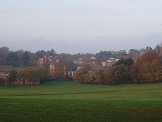Campuses of the University of Nottingham - The Downs, University Park