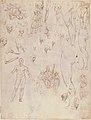 Nude Demon Encircled by a Serpent, after Michelangelo's Last Judgment; and Other Figure Studies (recto); Figure Studies (verso) MET 61.179.2 VERSO.jpg