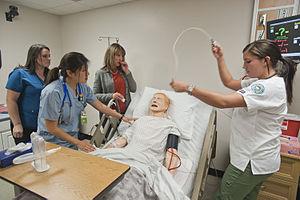 Hudson Valley Community College - Nursing simulation lab at Hudson Valley Community College
