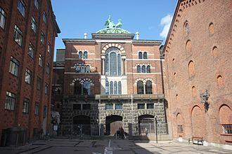Ny Carlsberg Brewhouse - Main facade