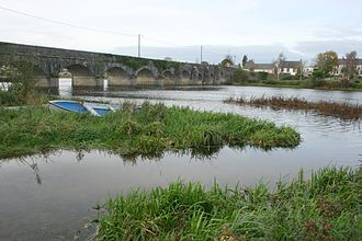 Montpelier, County Limerick - O'Briensbridge over the Shannon from Montpelier