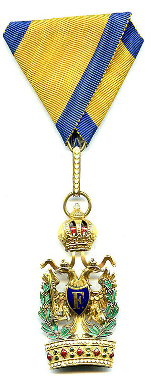 Rudolf Stöger-Steiner von Steinstätten - Order of the Iron Crown