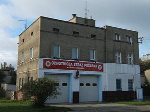 Nakło Śląskie - Fire station