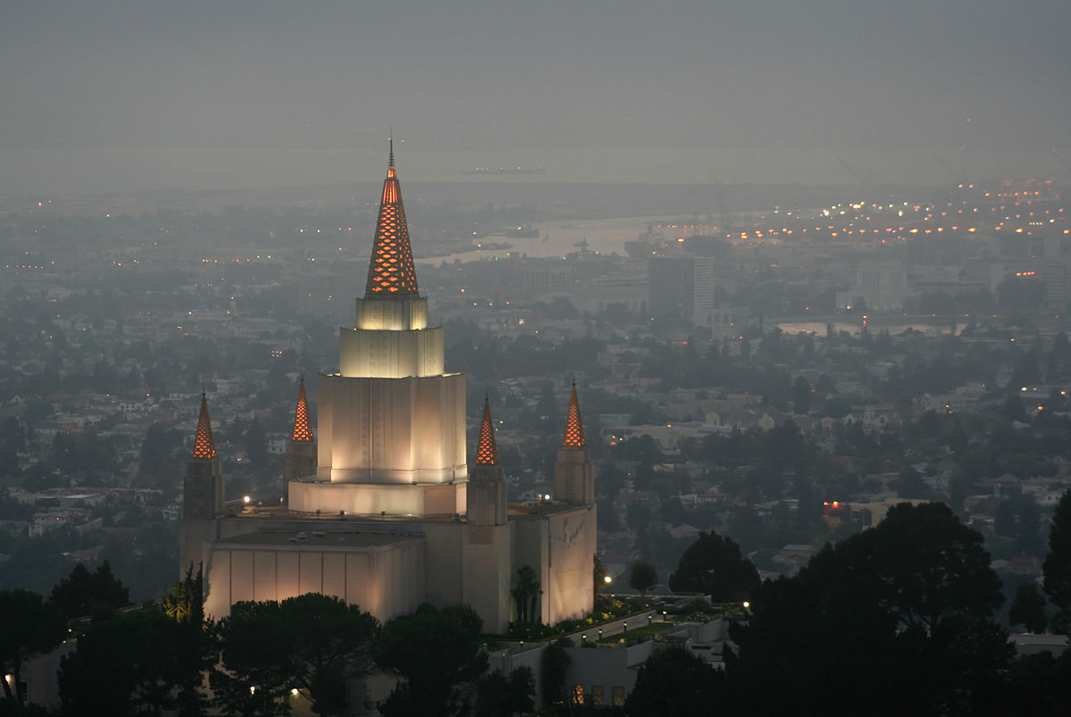 Oakland California Temple Wikipedia