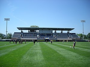 Michigan Wolverines women's soccer - U-M Soccer Stadium as it appeared during the 2013 season