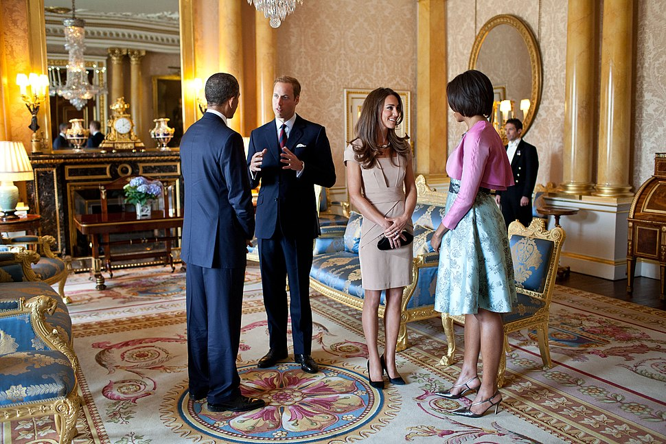 Obama and Duke Duchess of Cambridge