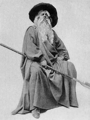 "Gandalf - ""Odin disguised as a Traveller"" from 1914."