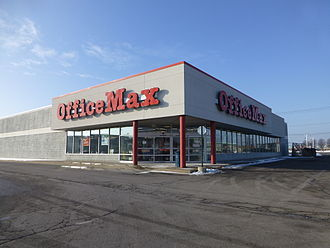 OfficeMax - An OfficeMax store in Toledo, Ohio.