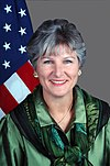 Official portrait of Karen Hughes, Under Secretary for Public Diplomacy and Public Affairs 59-CF-DS-22773-05.jpg