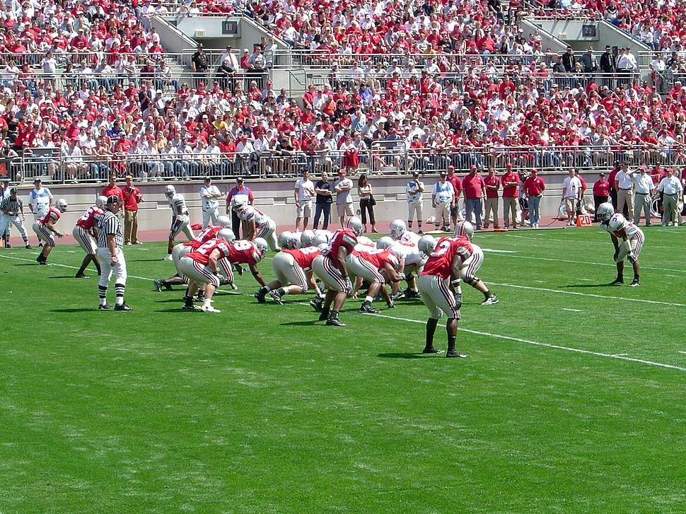 Ohio State Football Scarlet Gray Scrimmage