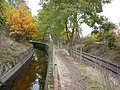 Ohre bilina canal and railway line chomutov vejprty.jpg