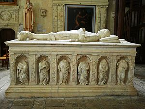 Artus Gouffier, Lord of Boissy - Tomb of Artus Gouffier, in the collégiate church at Oiron.