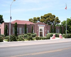 The Old Logandale School, Logandale, NV