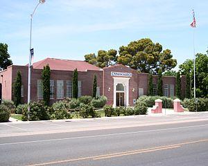 Logandale, Nevada - The Old Logandale School, Logandale, NV