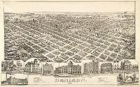 Old map-Denison-1891