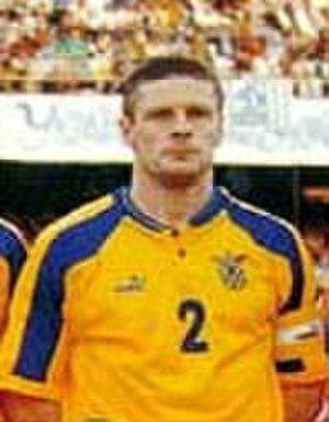 Oleh Luzhny - Luzhny while featuring for Ukraine