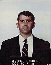 North's mugshot, after his arrest
