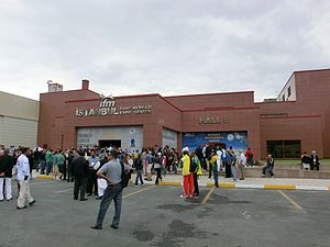 40th Chess Olympiad - The Istanbul Expo Center, the location of the tournament
