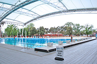 Melbourne Sports and Aquatic Centre - Image: Olympic Swimming Pool