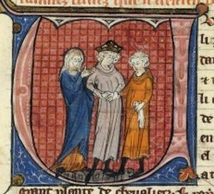 Isabella I of Jerusalem - Marriage of Isabella and her first husband, Humphrey IV of Toron