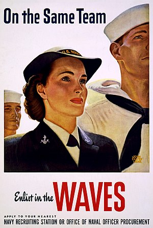 John Philip Falter - John Falter painted this recruiting poster in 1943.