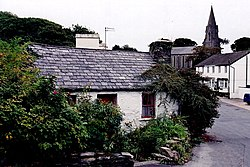 Onchan - Church Road - Molly Carrooin's cottage - geograph.org.uk - 1714102.jpg