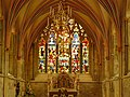 One of the many Stained Glass windows in Chichester Cathedral.JPG