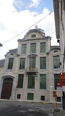 Hotel Van Oombergen (Vlaamse Academie Taal- en Letterkunde; Dammansteen)