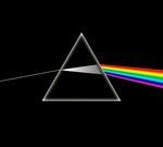 Un prisme similaire à celui représenté sur la pochette.
