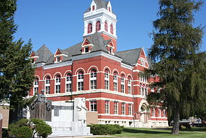 Oregon, IL Ogle County Courthouse 01.JPG