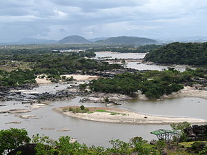 Orinoco - Rapids of the Orinoco River, near Puerto Ayacucho airport, Venezuela