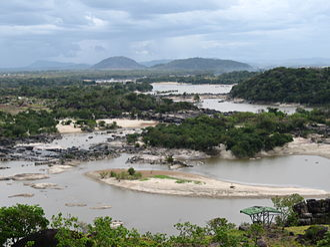 Orinoco - Rapids of the Orinoco River, near Puerto Ayacucho airport, Venezuela