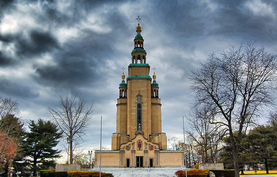 Orthodox Cathedral of St. Andrew in South Bound Brook