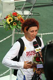 Osaka07 D4A Tatyana Lebedeva interviewed