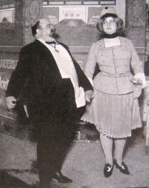 Oscar Stribolt - Oscar Stribolt and Viktoria Petersen in 1909