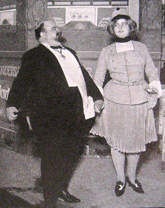 Oscar Stribolt - Oscar Stribolt and Viktoria Petersen in 1909