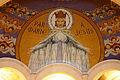 Our Lady - Rosary Basilica - Lourdes 2014.JPG