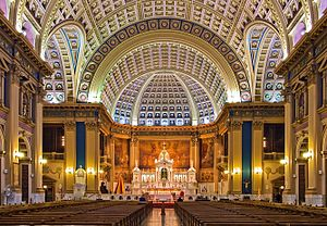 Our Lady of Sorrows Basilica - Interior of the Basilica.